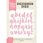 Echo Park - Designer Dies - Lindsay Lowercase Alphabet
