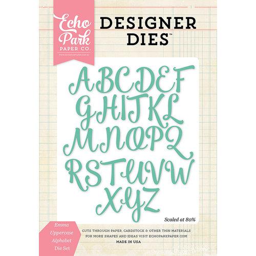 Echo Park - Designer Dies - Emma Uppercase Alphabet