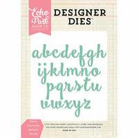 Echo Park - Designer Dies - Emma Lowercase Alphabet