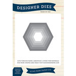 Echo Park - Designer Dies - Large - Hexagon Nesting
