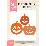 Echo Park - Halloween - Designer Dies - Happy Jack O Lanterns