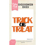 Echo Park - Halloween - Designer Dies - Trick or Treat Word