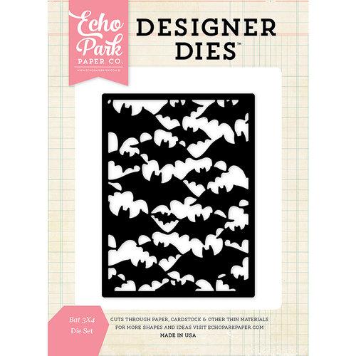 Echo Park - Haloween - Designer Dies - 3 x 4 Background - Bat