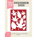 Echo Park - Designer Dies - Leaves 3 x 4 Background