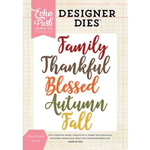 Echo Park - Designer Dies - Blessed Family Word