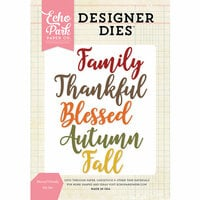 Echo Park - Designer Dies - Blessed Family Word