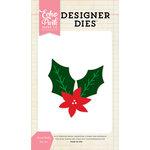 Echo Park - Christmas - Designer Dies - Floral Holly