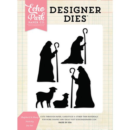 Echo Park - Christmas - Designer Dies - Shepherd and Sheep Nativity