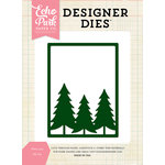 Echo Park - Christmas - Designer Dies - Pines 3 x 4 Background
