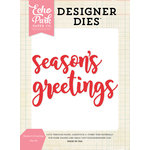 Echo Park - Christmas - Designer Dies - Season's Greetings Word