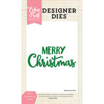 Echo Park - Christmas - Designer Dies - Merry Christmas 2 Word