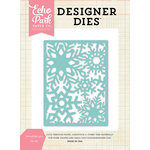 Echo Park - Designer Dies - Snowflake 3 x 4 Background