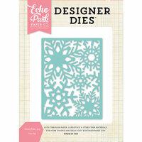 Echo Park - Designer Dies - Snowflake 3 x 4 Background