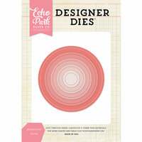 Echo Park - Designer Dies - Nesting Stitched Circle