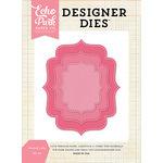 Echo Park - Designer Dies - Stitched Label Nesting