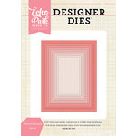 Echo Park - Designer Dies - Stitched Rectangle Nesting