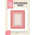 Echo Park - Designer Dies - Stitched Rectangle Nesting