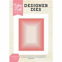 Echo Park - Designer Dies - Nesting Stitched Rectangle