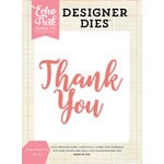 Echo Park - Designer Dies - Script Thank You Word