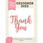 Echo Park - Designer Dies - Script Thank You Word