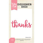 Echo Park - Designer Dies - Thanks Word