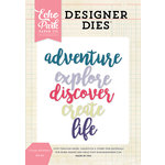 Echo Park - Designer Dies - Create Adventure Word