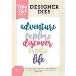 Echo Park - Designer Dies - Create Adventure Word