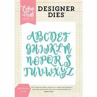 Echo Park - Designer Dies - Alisha Uppercase