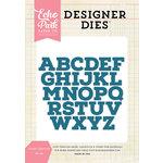 Echo Park - Designer Dies - Cooper Uppercase