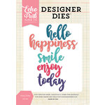 Echo Park - Designer Dies - Enjoy Today Word