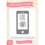 Echo Park - Creative Agenda Collection - Designer Dies - Text Me