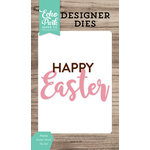 Echo Park - Celebrate Spring Collection - Designer Dies - Happy Easter Word