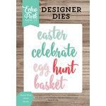 Echo Park - Celebrate Spring Collection - Designer Dies - Easter Hunt Word