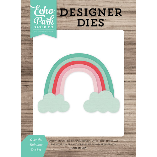 Echo Park - Celebrate Spring Collection - Designer Dies - Over the Rainbow