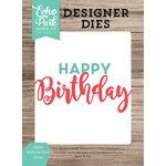 Echo Park - Celebrate Spring Collection - Designer Dies - Happy Birthday Word