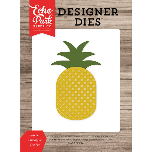 Echo Park - Summer Break Collection - Designer Dies - Stitched Pineapple