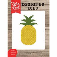Echo Park - Summer Break Collection - Designer Dies - Stitched Pineapple