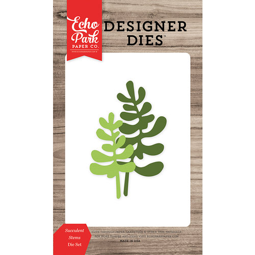 Echo Park - Summer Break Collection - Designer Dies - Succulent Stems