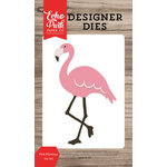 Echo Park - Summer Break Collection - Designer Dies - Pink Flamingo