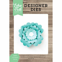 Echo Park - Party Time Collection - Designer Dies - Dahlia 3D Flower