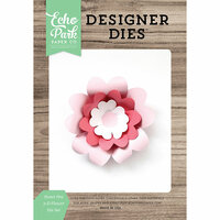 Echo Park - Party Time Collection - Designer Dies - Sweet Pea 3D Flower