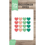 Echo Park - Party Time Collection - Designer Dies - Heart Confetti