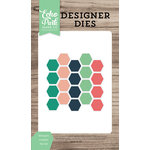 Echo Park - Party Time Collection - Designer Dies - Hexagon Confetti