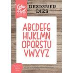 Echo Park - Designer Dies - Lily Uppercase Alphabet