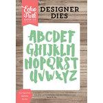 Echo Park - Designer Dies - Ava Uppercase Alphabet