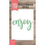Echo Park - Designer Dies - Enjoy Word