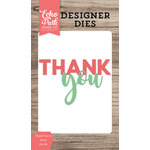 Echo Park - Designer Dies - Thank You 2 Word