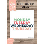 Echo Park - Daily Life Collection - Designer Dies - Block Monday to Thursday