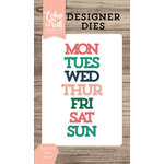 Echo Park - Daily Life Collection - Designer Dies - Days of the Week