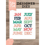 Echo Park - Daily Life Collection - Designer Dies - Months of the Year
